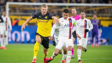 Der BVB gewann das Hinspiel gegen PSG mit 2:1