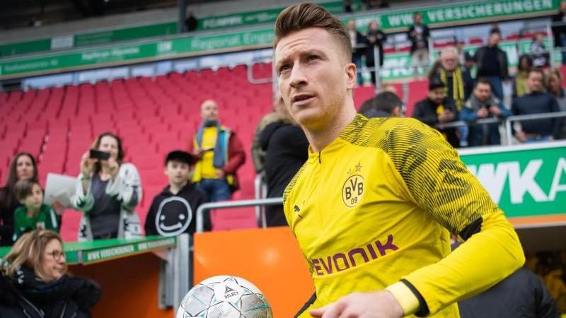 Kommt die Corona-Pause nicht ungelegen:BVB-Kapitän Marco Reus