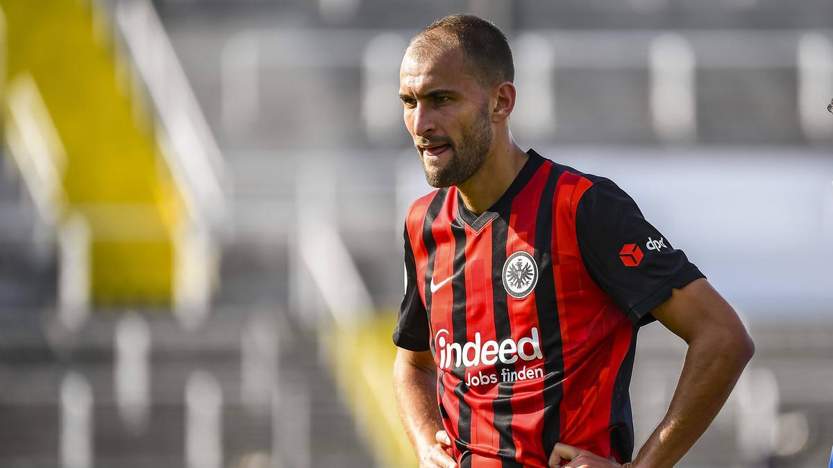 Soll in der Premier League hoch im Kurs stehen: Bas Dost von Eintracht Frankfurt