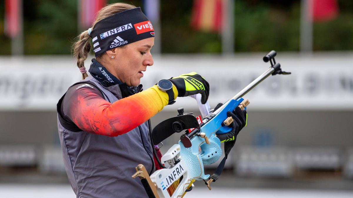 Denise Herrmann hat den Sieg in Kontiolathi knapp verpasst
