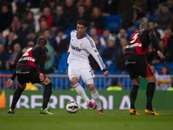 Auch zu zweit kaum zu stoppen: Cristiano Ronaldo (m.)
