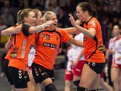 Glückliche Niederländerinnen
