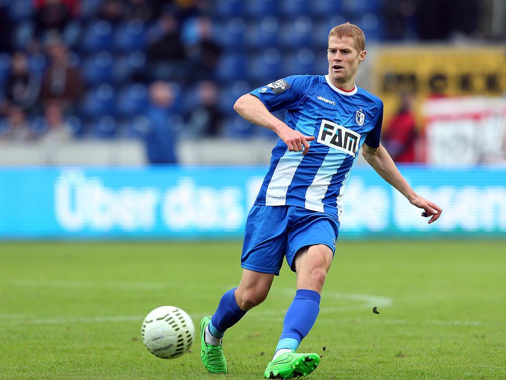 Andre Hainault bleibt bis 2018 in Magdeburg