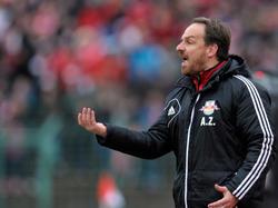 Akexander Zorniger und RB Leipzig sind weiter auf Zweitliga-Kurs