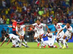 WM 2014: Costa Rica sensationell im Viertelfinale