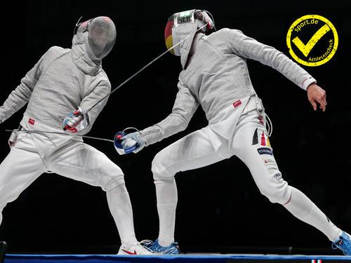 Nach dem siebten Platz vor vier Jahren träumt Max Hartung (r.) dieses Mal von einer Olympia-Medaille