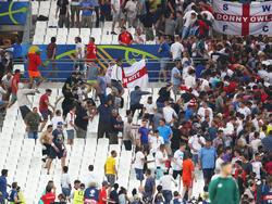 Gewalt auf den Rängen im EM-Spiel zwischen Russland und England im Sommer 2016