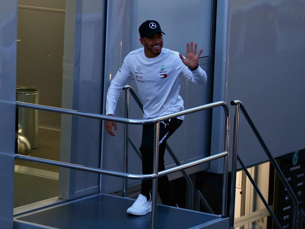 Lewis Hamilton sieht in Sportgrößen außerhalb der Formel 1 Vorbilder