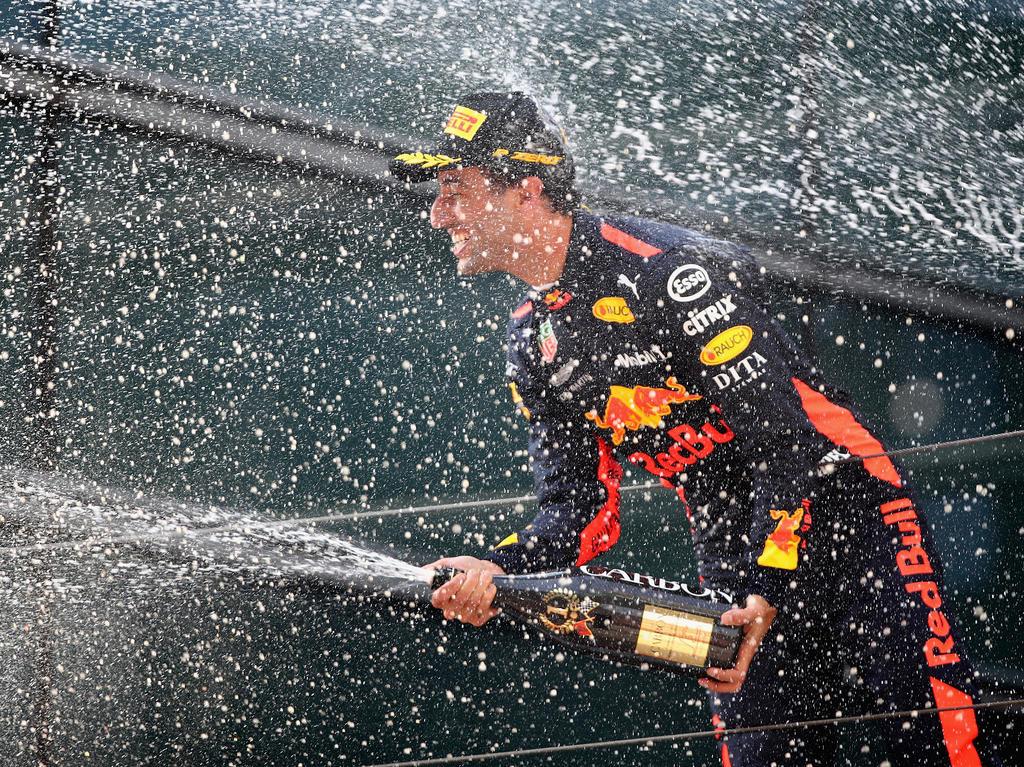 Daniel Ricciardo war in Shanghai der Mann des Rennens