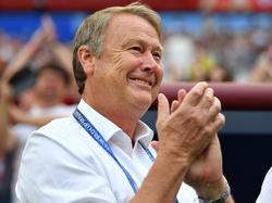 Dänemarks Coach Age Hareide will, dass sein Team offensiver spielt