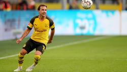 Mario Götze verpasst das Spiel in Wolfsburg