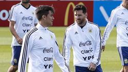 Paulo Dybala (li.) ist für viele Fans der Nachfolger von Lionel Messi