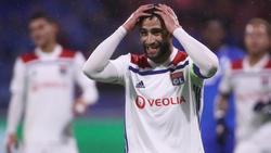 Nabil Fekir se lamenta tras fallar una ocasión.