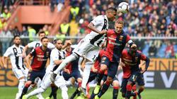 Juventus Turin musste sich dem FC Genua geschlagen geben
