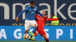 Hansa Rostock erzielte den späten Ausgleich