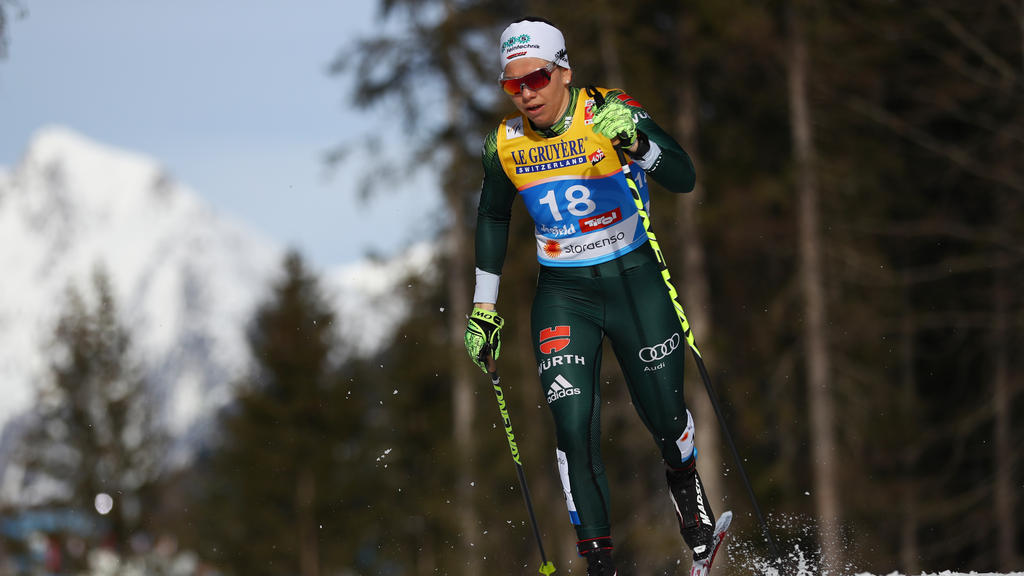 Sandra Ringwald hängt die Skier an den Nagel