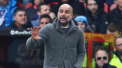 Pep Guardiola zog den Zorn von Tottenham Hotspur auf sich