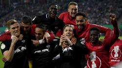 RB Leipzig hat das Pokal-Endspiel erreicht