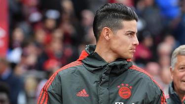 James Rodríguez vom FC Bayern wird bei zwei Premier-League-Größen gehandelt