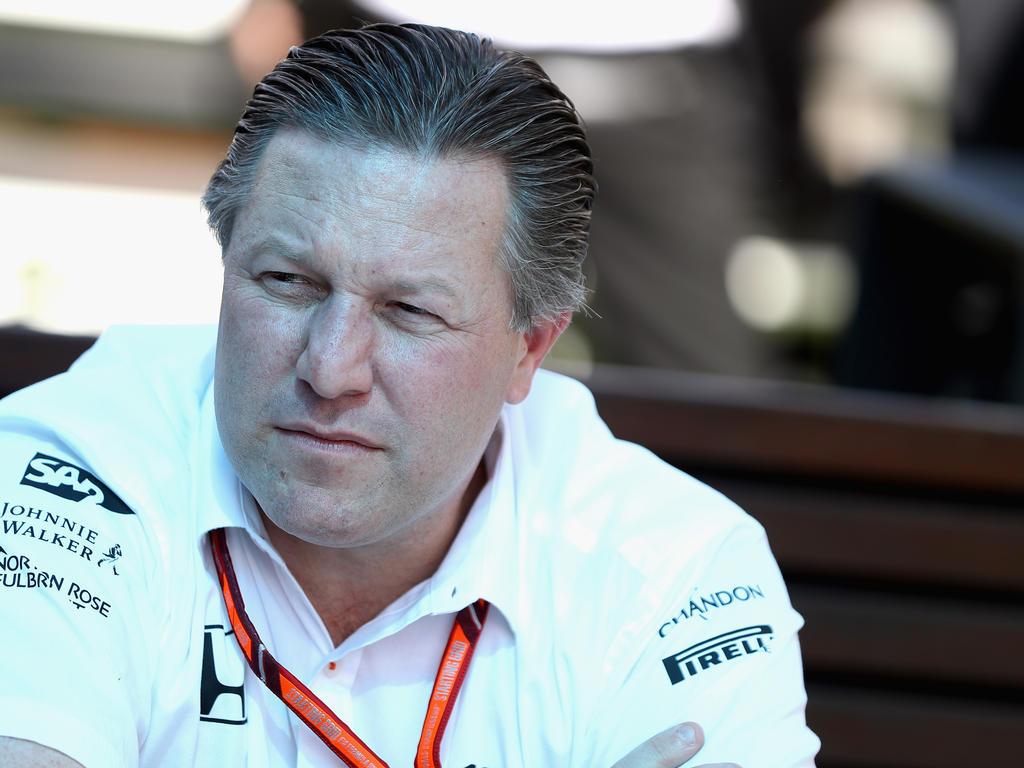 Wie löst Zak Brown das Motorenproblem von McLaren?