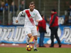 Justin Eilers möchte endlich für den SV Werder in der Bundesliga auflaufen