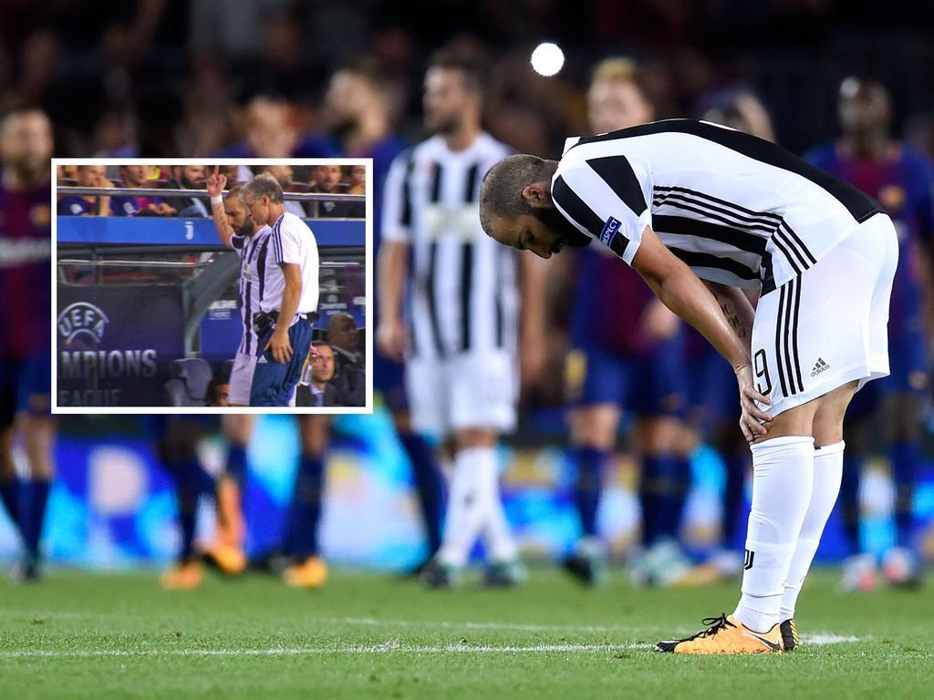 Higuaín zeigte den gegnerischen Fans den Effenberg-Gedächtnis-Finger