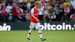 Das Spiel gegen den FC Watford könnte Özils letztes Spiel im Arsenal-Trikot gewesen sein