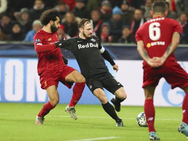Salzburg-Kapitän Andi Ulmer war mit den Superstars von Liverpool auf du und du