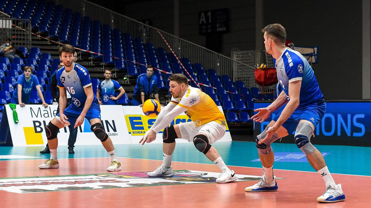 Die Friedrichshafener Volleyballer suchen eine neue Halle
