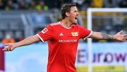 Glaubt nicht mehr an ein Comeback in der Nationalmannschaft: Union Berlins Max Kruse