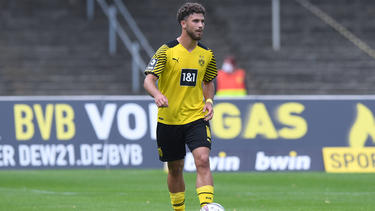 Albin Thaqi steuerte beim BVB-Sieg ein Tor bei