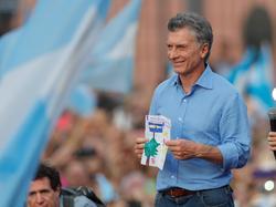 Mauricio Macri en una imagen durante su mandato.