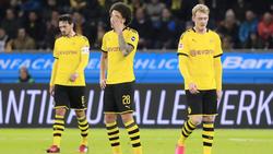 Der BVB unterlag Bayer Leverkusen