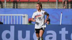 Spielt mit ihrem Vorbild im selben Club: Giulia Gwinn