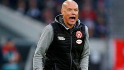 Uwe Rösler von Fortuna Düsseldorf fordert einen geregelten Trainingsbetrieb