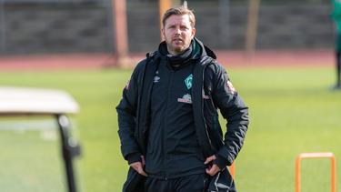 Florian Kohfeldt glaubt noch an seinen SV Werder
