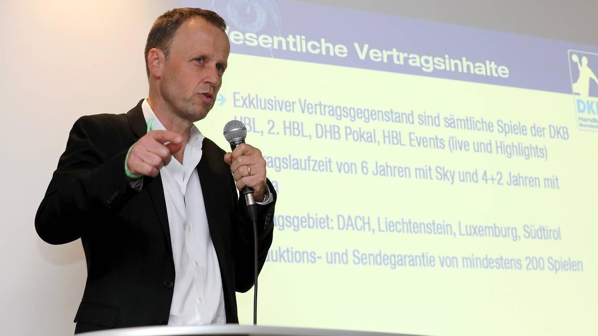 Frank Bohmann will sich ein Beispiel an der DFL nehmen