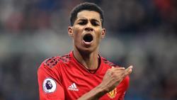 Marcus Rashford stürmt für Manchester United