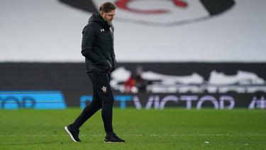 Ralph Hasenhüttl kann mit seinem FC Southampton nicht spielen