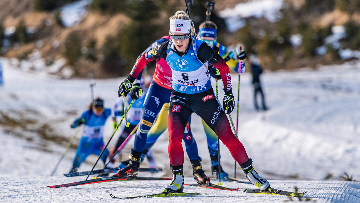 Eckhoff hat den Sprint in Oberhof gewonnen