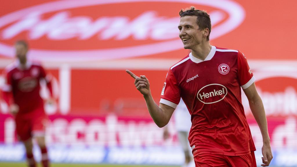 Fortuna Düsseldorf setzte sich gegen den 1. FC Nürnberg durch