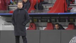 Hansi Flick und dem FC Bayern droht das Aus in der Champions League
