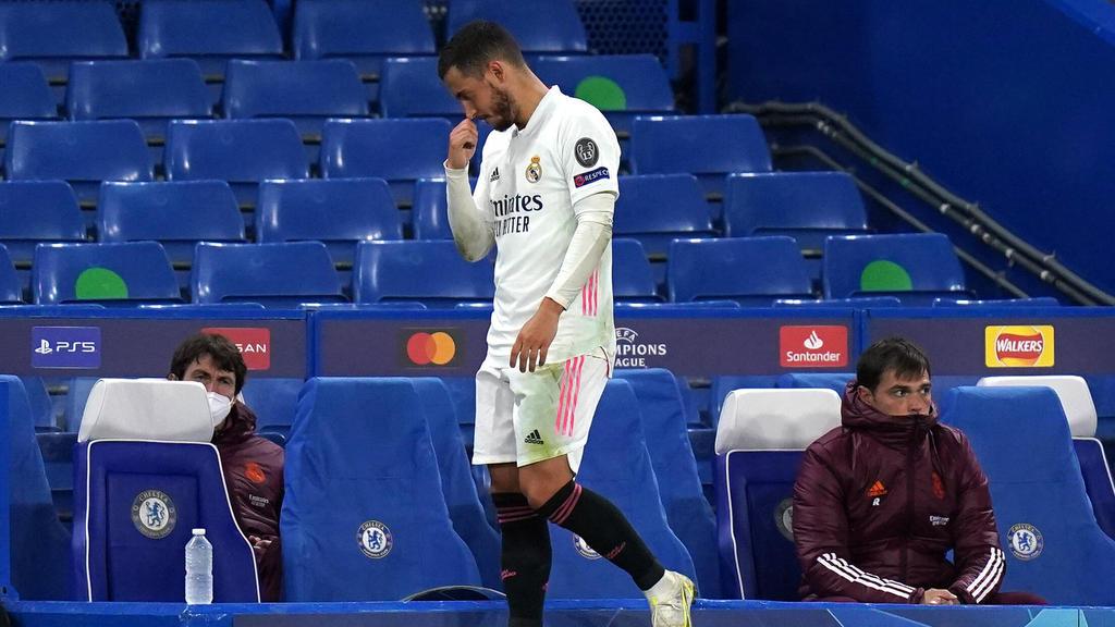 Eden Hazard wurde nach dem Champions-League-Aus von Real-Fans kritisiert