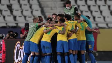 Brasilien jubelt nach dem Halbfinal-Erfolg