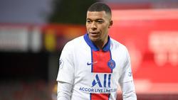 Kylian Mbappé steht seit 2017 bei PSG unter Vertrag