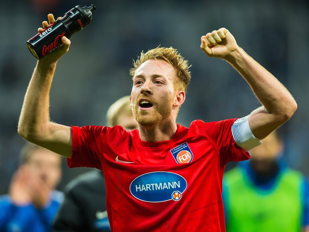 Marc Schnatterer führte seine Heidenheimer ins DFB-Pokal Viertelfinale