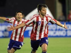 Ángel Romero brachte Paraguay mit 1:0 in Führung