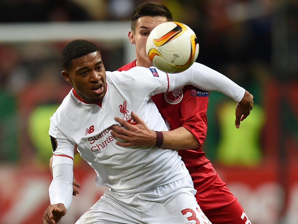 Jordon Ibe (l.) erzielte das Goldene Tor für die Reds gegen Kazan
