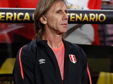 Gareca en una imagen de archivo como seleccionador peruano. (Foto: Getty)