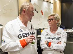 Horst Hrubesch und Silvia Neid können ihre Rio-Reise vergolden